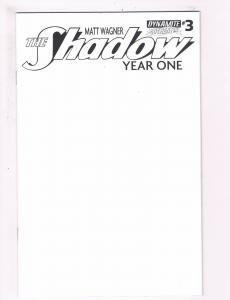 The Shadow Year One # 3 NM 1st Print Authentix Variant Dynamite Comic Book S67