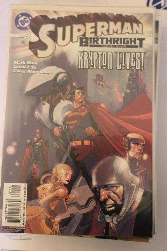 Superman Birthright 9 9-4-nm
