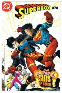 YOUNG JUSTICE, NM, Sins of Youth, Superboy, Insert, 2000, more in store