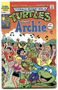 Teenage Mutant Ninja Turtles Meet Archie 1990- DeCarlo VF