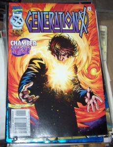 Generation X #11 (Jan 1996, Marvel) chamber omega red mutants xmen