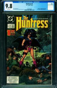 Huntress #1 CGC 9.8 1989  First HUNTRESS 2026364004