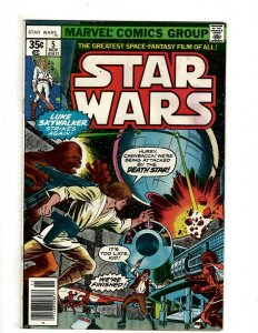 10 Star Wars Marvel Comics # 5 6 7 8 9 10 11 13 14 15 Luke Skywalker Leia J461
