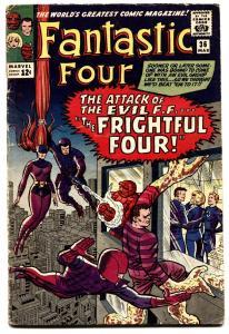 Fantastic Four #36 First Medusa Frightful Four MARVEL  comic book 1965