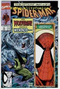 SPIDER-MAN #11, NM+, Todd McFarlane, 1990, Wolverine, more SM in store