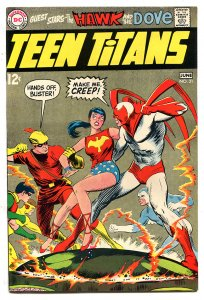 TEEN TITANS 21 9.2 NM 1969 Neal Adams Hawk & Dove Wonder Girl