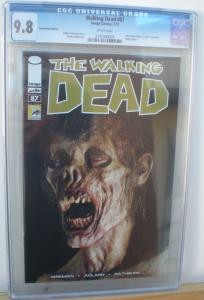WALKING DEAD #87, CGC = 9.8, NM/M, Fear, Kirkman, SDCC, 2003, more CGC in store