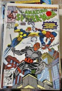 Amazing Spider-Man  #354 round robin pt 2 nova night thrasher moon knight punish