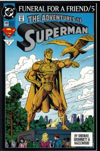 Adventures of Superman #499 (DC, 1993)