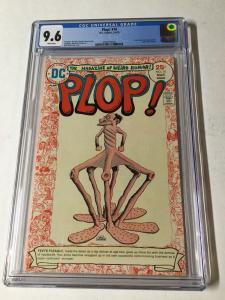 Plop! 10 By Dc Comics Cgc 9.6 White Pages Basil Wolverton