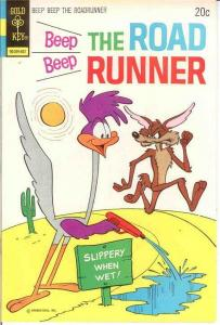 BEEP BEEP THE ROAD RUNNER (GK) 41 VF  February 1974 COMICS BOOK