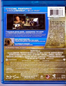 2019's Clash of The Titans Blu Ray