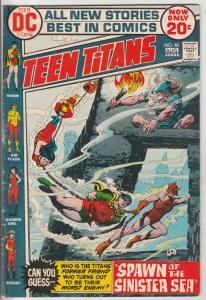 Teen Titans, The #40 (Aug-73) FN Mid-Grade Kid Flash, Robin, Wonder Girl, Speedy