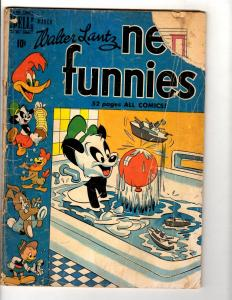 New Funnies # 157 GD Dell Golden Age Comic Book Walter Lantz Oswald Andy JL10