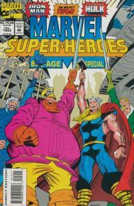 Marvel Super-Heroes (Vol. 2) #15 VF/NM; Marvel | save on shipping - details insi