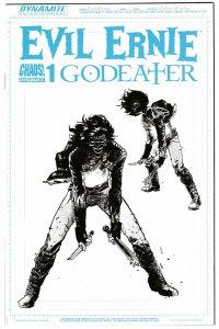 Evil Ernie Godeater #1 | RI 1:10 Character Design Variant (Dynamite, 2016) NM