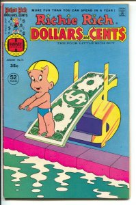 Richie Rich Dollars and Cents #76 1976-Harvey-Little Lotta-52 pages-VF-