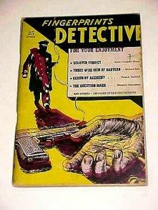 FINGERPRINTS DETECTIVE-#2-1940'S VG