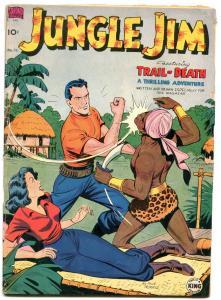 Jungle Jim #15 1950- Good Girl Art -Pete the Tramp- Snuffy Smith G/VG