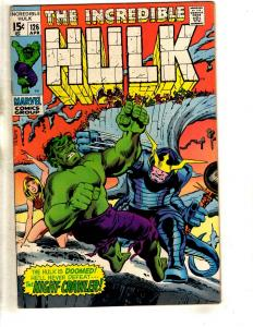 Incredible Hulk # 126 VF Marvel Comic Book Trimpe Avengers Thor Valkyrie TW64