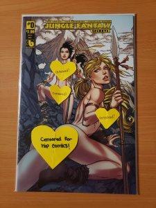 Jungle Fantasy Secrets #0 Vixens Nude Variant Cover