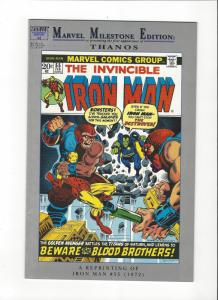 Marvel MIlestone Ironman #55 1st Thanos Drax The Destroyer VF
