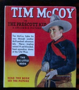 Tim McCoy #1152 1935-Whitman-Big Little Book-movie edition with pix-VF/NM