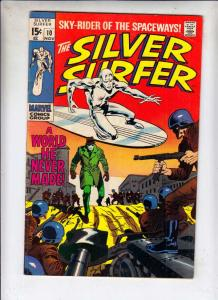 Silver Surfer #10 (Nov-69) FN+ Mid-High-Grade Silver Surfer