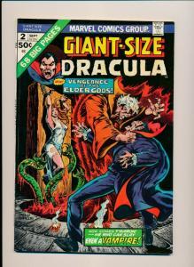 Marvel Giant-Size DRACULA #2 . 1974  ~ FN (PF677)