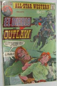El Diablo and Outlaw #3 5.0 VG/FN (1971)