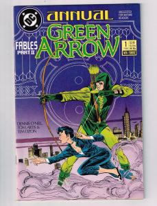 Green Arrow Annual # 1 NM 1st Print Marvel Comic Book CW TV Shado Speedy J28
