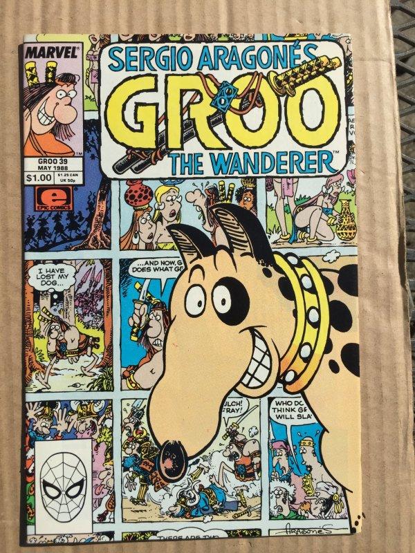 Sergio Aragonés Groo the Wanderer #39 (1988)