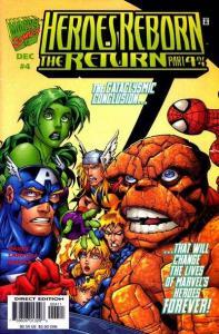 Heroes Reborn (2000 series) The Return #4, VF (Stock photo)
