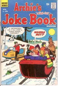 ARCHIES JOKE BOOK (1954-1982)159 F-VF April 1971 COMICS BOOK