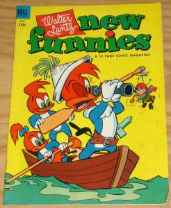Walter Lantz New Funnies #195 FN may 1953 woody woodpecker andy panda 52 pages