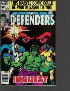 Defenders #87 (Marvel, 1980)