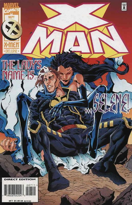 X-Man #7 VF/NM; Marvel | save on shipping - details inside