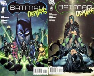 BATMAN ORPHANS (2011) 1-2  complete story! Ordway