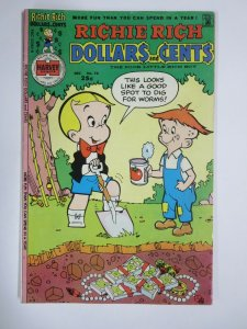 RICHIE RICH DOLLARS AND CENTS #70 (Harvey,12/1975) VERY GOOD PLUS (VG+)