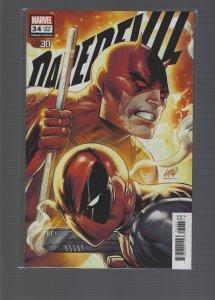 Daredevil #34 (2021) Variant