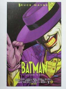 Batman (DC New 52 2015) #40 Movie Poster Variant Joker Cowl to Scowl Snyder
