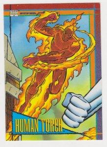 1993 Marvel Universe #75 Human Torch