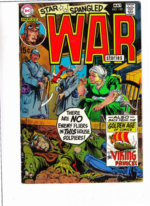 Star Spangled War Stories #150 (May-70) FN+ Mid-High-Grade Enemy Ace