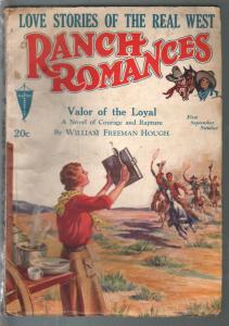 Ranch Romances 9/1/1932-Valor Of The Loyal-Wm Freeman Hough-VG