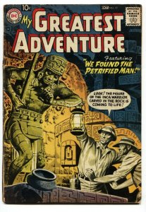 My Greatest Adventure #17 1958-DC Silver Age- Greytone cover