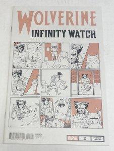 Wolverine: Infinity Watch #2 Nao Fuji Cat Variant