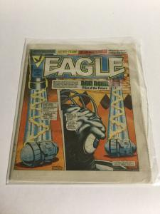 Eagle Magazine 127 Doomlord Bloodfang Dan Dare Oversized B19