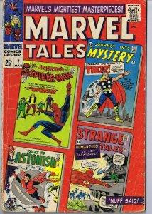 Marvel Tales #7 ORIGINAL Vintage 1966 Marvel Comics Spider-Man Thor Human Torch