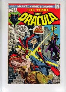 Tomb of Dracula #9 (Jun-73) VF High-Grade Dracula