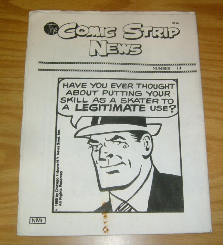 Comic Strip News #14 FN; Quality Comic Art Productions | save on shipping - deta